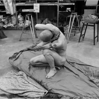 'Sculptural Solace' (alternate view) | Henry Moore Sculpture Studio 2019