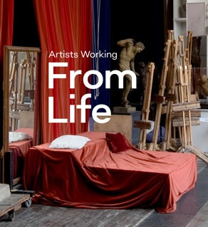 'Artists working From Life', the Royal Academy of Art's book, accompanying their exhibiton of the same name.  I am featured in the book twice, both photographs taken within the Life Room at the RA, by Justine Trickett, documenting a digital drawing class.