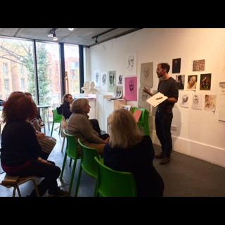 David Caldwell teaching at HSOA, 2018