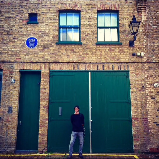 Francis Bacon's home and studio, South Kensington, 2018