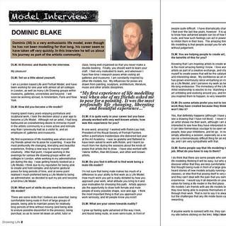 Drawing Life Magzine:  Interview.