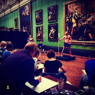 Classical Pose | The National Gallery | 2017