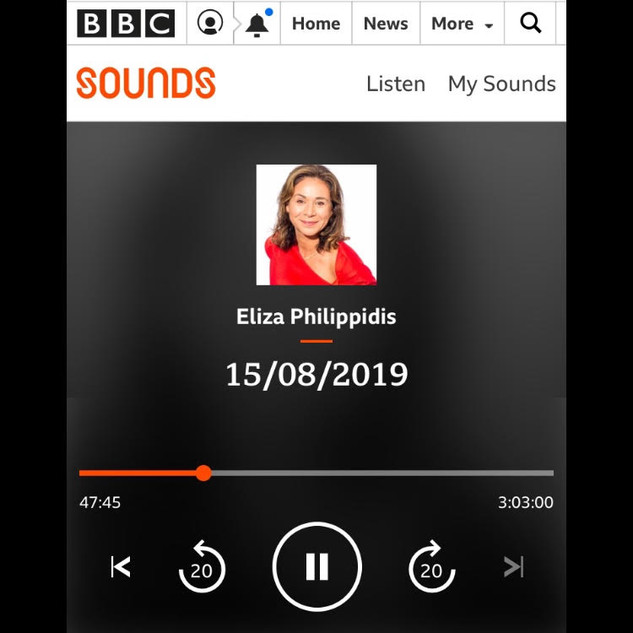 BBC Radio Guernsey | August 2019 | Interview with Eliza Philippidis about my series of lectures:  'Are Life Models Artists?'.