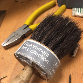 Brush, Government Art Collection, 2018
