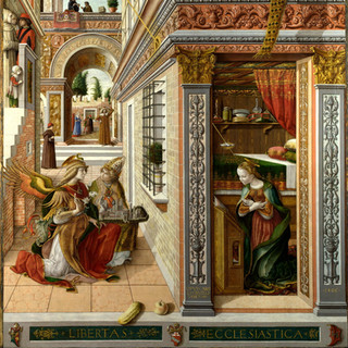 The Annunciation, Carlo Crivelli, The National Gallery, 2018