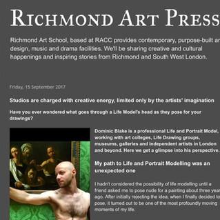 Richmond Art Press:  Interview.