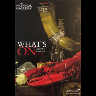 The National Gallery   What's On Guide   September - November 2019