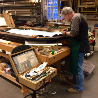 Martin, Conservator at the Government Art Collection, 2018