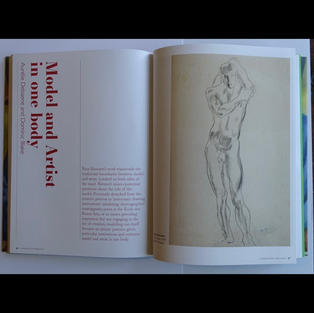 Charleston Press No. 4   Essay:  'Model and Artist in one body', 2021