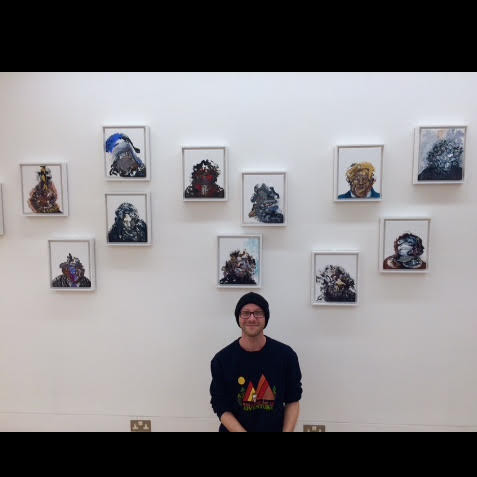Maggi Hambling exhibition, Marlborough Fine Art, 2018