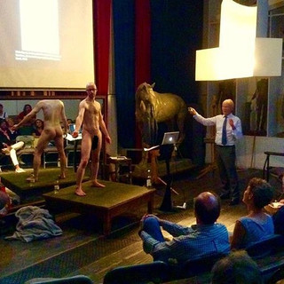Life Modelling within an anatomy class at the Royal Academy of Arts | 2018