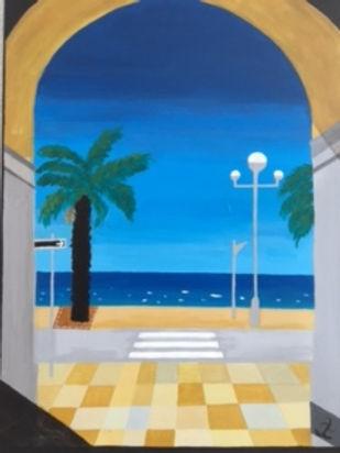 Nice, 50x70, Acrylic on canvas