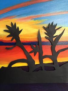 Sightseeing,30x40, mixed media on canvas