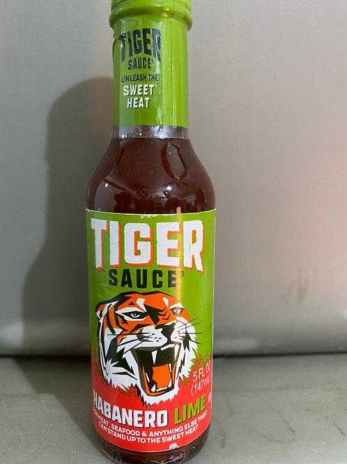 Tiger Sauce Habanero & Lime