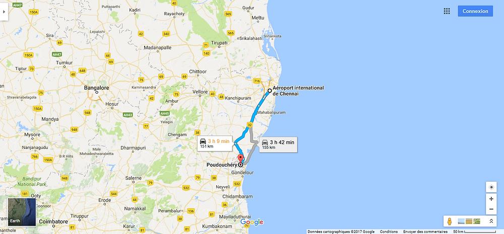 Chennai / Pondichéry