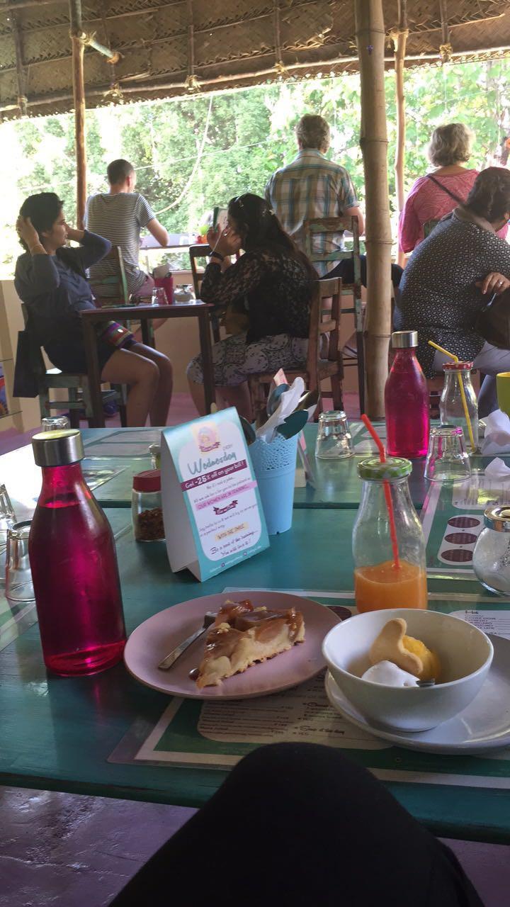 Lunch dans un café