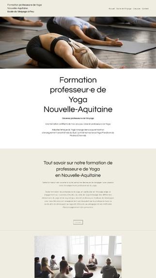 Formation Yoga Nouvelle-Aquitaine