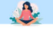 A meditation app