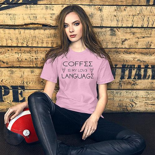 Coffee Language 2 - Unisex Tee