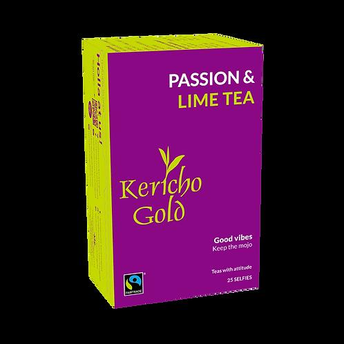 Kericho Gold Attitude Passion & Lime Tea