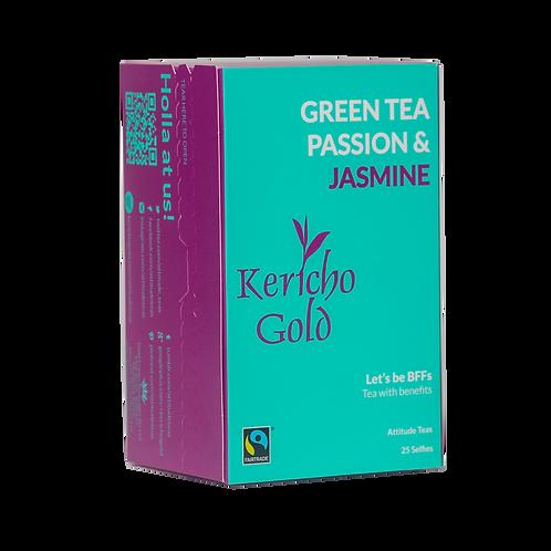 Kericho Gold Attitude Green Tea, Passion & Jasmine