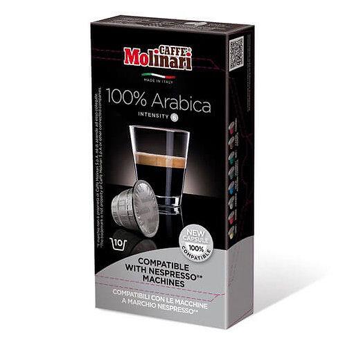 Molinari Nespresso Compatible 100% Arabica