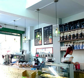 Coffee Shop Serving Caffè Molinari Coffee