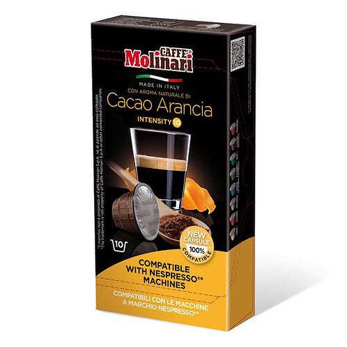 Molinari Nespresso Compatible Cocoa-Orange