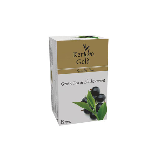 Kericho Gold Speciality Green Tea & Black Currant