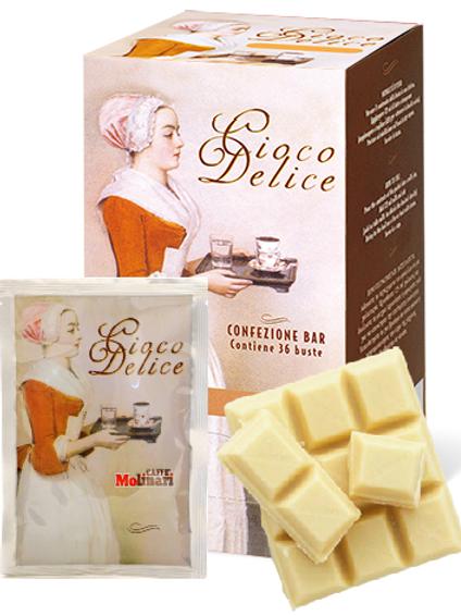 Cioco Delice White Chocolate 28G Single-serving