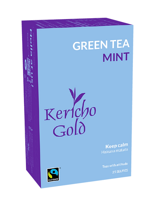 Kericho Gold Attitude Green Tea & Mint