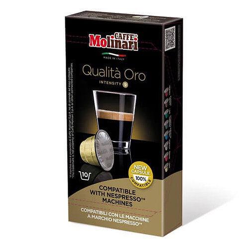 Molinari Nespresso Compatible Oro