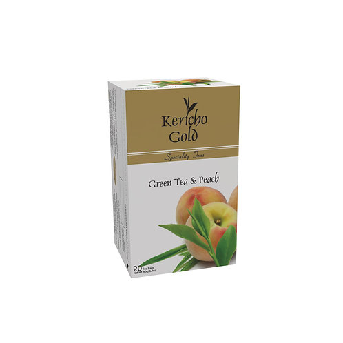 Kericho Gold Speciality Green Tea & Peach