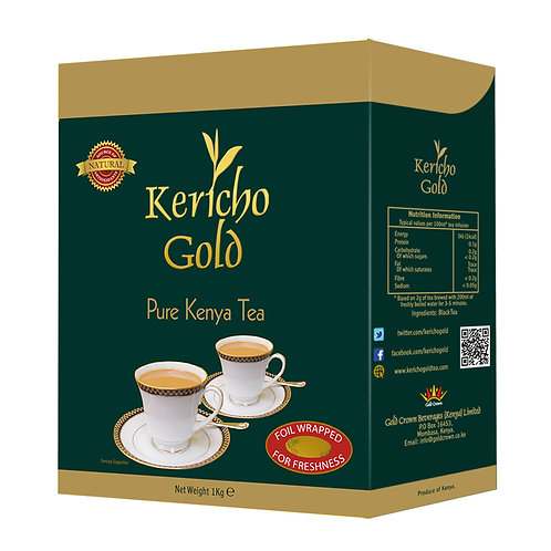Kericho Gold Black Tea Loose 1Kg
