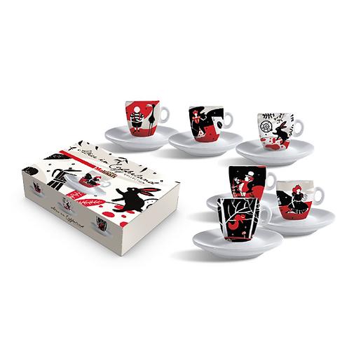 Alice in Coffeeland Espresso Cups
