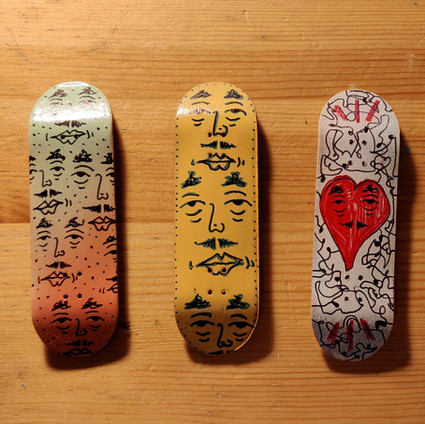 Hand drawn Fingerboards