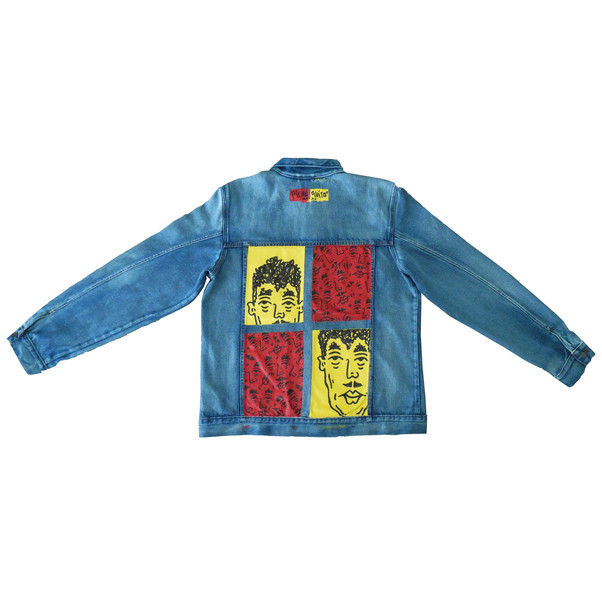 Gianni Pichuquito Jean Jacket back