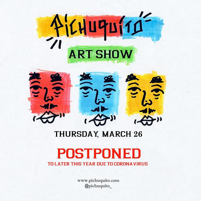 Pichuquito Art Show @Aloft El Segundo PO