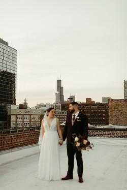 Intimate Chicago Wedding - E+I -9924
