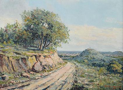 Fredericksburg, painting by Paul Schumann