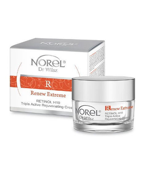Retinol H10 – Krema za pomlajevanje s trojnim delovanjem
