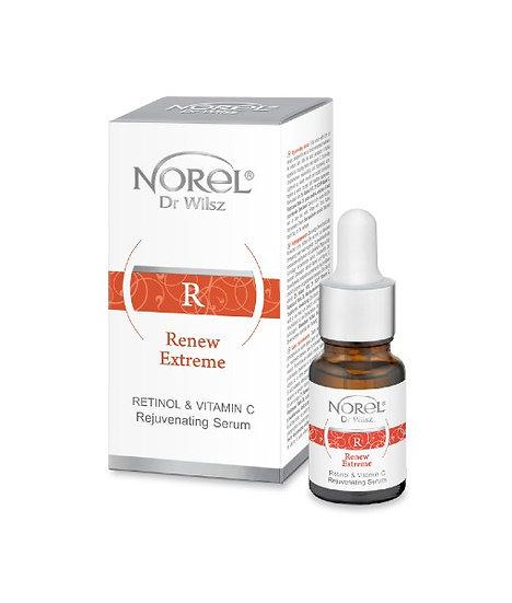 Retinol & Vitamin C Serum za pomlajevanje