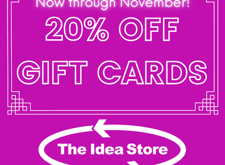 Gift Card SALE!
