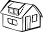 Yellow-detached-house-outline.png