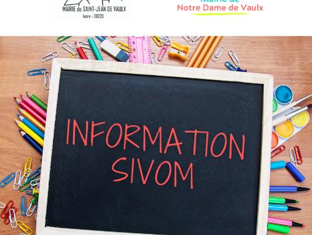 Compte-rendu de réunion urgente et extraordinaire des délégués école du SIVOM