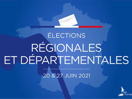 LES ELECTIONS DEPARTEMENTALES & REGIONALES
