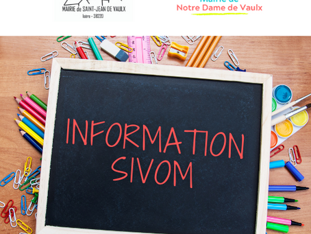 OFFRE EMPLOI: SIVOM - Agent polyvalent