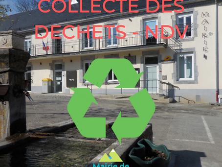 REGLEMENT INTERIEUR  « SITE DE COLLECTE DES DECHETS »