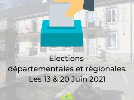 ELECTIONS des 13 & 20 Juin 2021