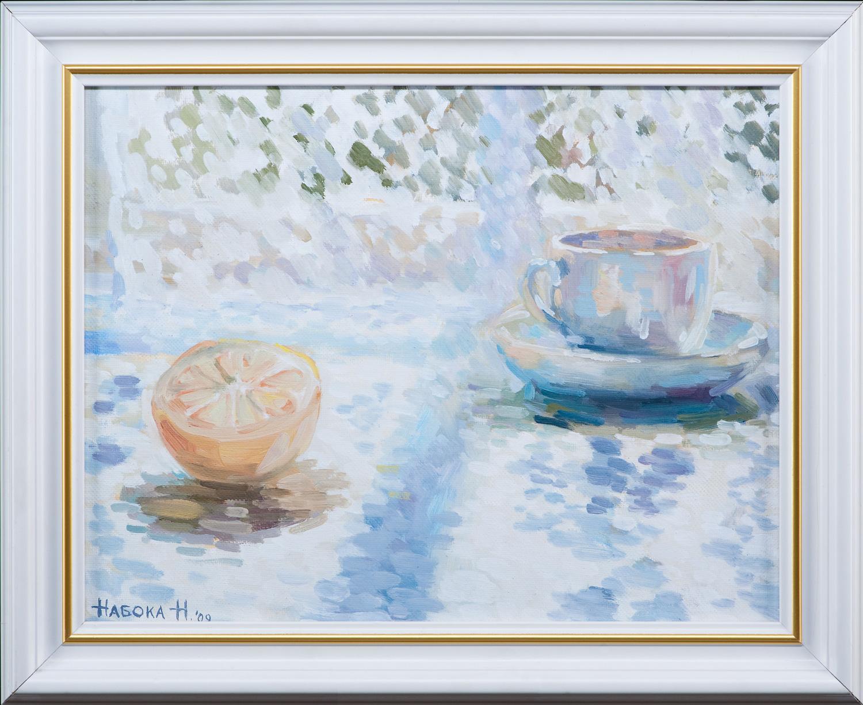 Summer tea drinking.